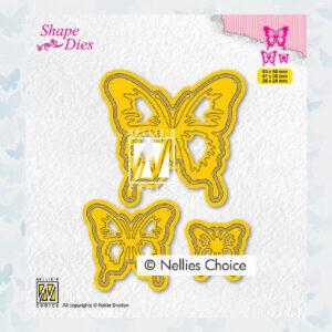 Nellies Choice Shape Die - Vlinders SD196