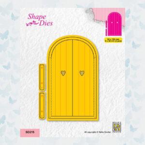 Nellies Choice Shape Die - Deur SD215