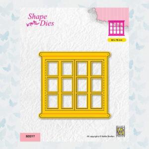 Nellies Choice Shape Die - Open Raam SD217