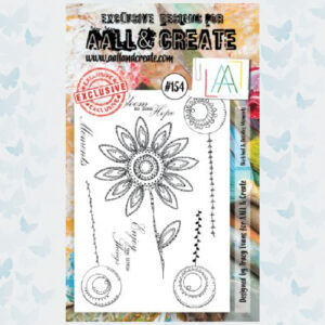 AALL&Create Stamp Set 154 - Sketched & Doodles Moments