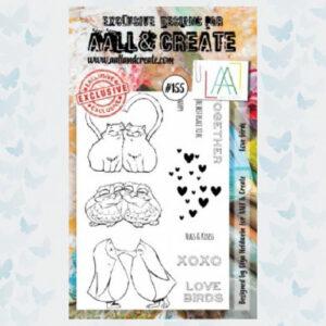 AALL&Create Stamp Set 155 - Love Birds