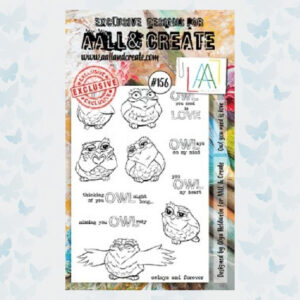 AALL&Create Stamp Set 156 - Owl You Need Is Love