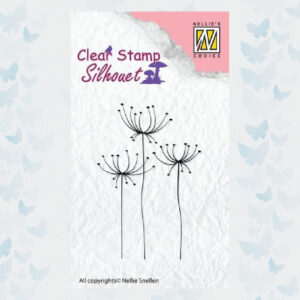 Nellies Choice Silhouette Clear Stamps kruiden-1 SIL031