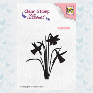 Nellies Choice Clearstempel - Silhouette Narcis SIL064