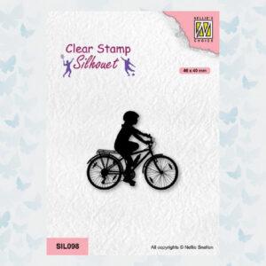 Nellies Choice Clearstempel - Silhouette - Sport Fiesten 2 SIL098