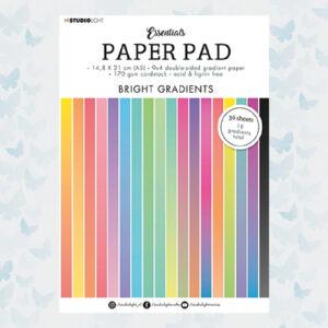 Studio Light A5 Paper Pad Essentials Bright Gradients SL-ES-PP18