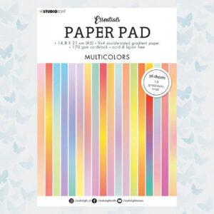 Studio Light A5 Paper Pad Essentials Multicolors SL-ES-PP20