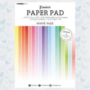 Studio Light A5 Paper Pad Essentials White Fade SL-ES-PP21