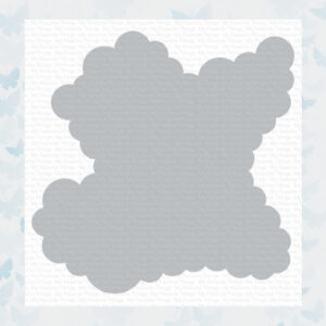 My Favorite Things Rolling Clouds Stencil (ST-143)