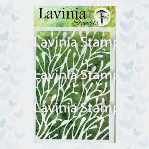 Lavinia Stencil Coral ST003