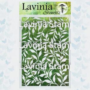 Lavinia Stencil Laurel ST008