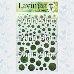Lavinia Stencil White Orbs ST018