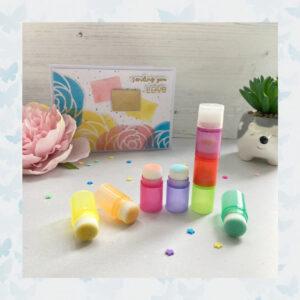 Time For Tea Stapelbare Rainbow Blender Brushes (T4T/694/Sta/BBB)