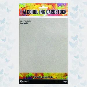 Ranger Alcohol Ink Surfaces Silver Sparkle TAC65500