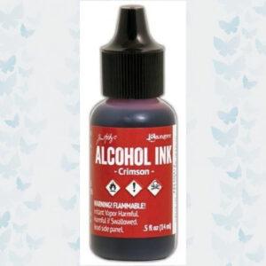 Ranger Alcohol Ink - Crimson TAL59417 Tim Holz