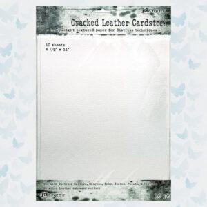 Ranger Distress Cracked Leather Paper TDA71280