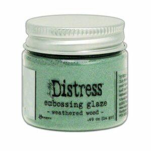 Ranger Distress Embossing Glaze Weathered Wood TDE71051