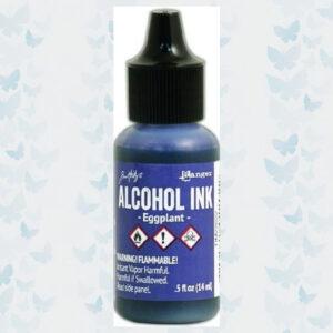 Ranger Alcohol Ink Eggplant TIM22022