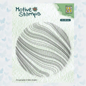 Nellies Choice Clearstamp - Texture golven TXCS014