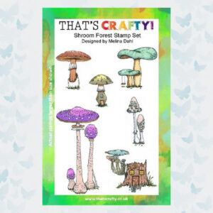 That's Crafty! Clearstamp A5 - Shroom Forest 105427