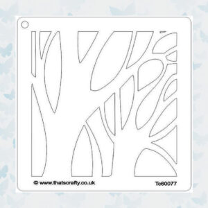 That's Crafty! Mask stencil - Winter boom 107119