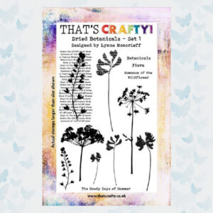 That's Crafty! Clearstamp A5 - Dried Botanicals Set 1 - 10846
