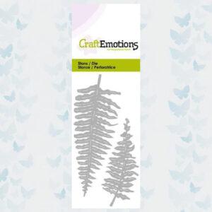 CraftEmotions Die - Varen Bladeren 115633/0213