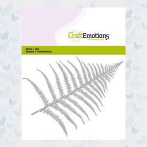 CraftEmotions Die - Varenblad 115633/0354