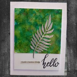 CraftEmotions Die - Tropische Bladeren 115633/0355