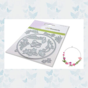 CraftEmotions Die - Floral Decoration Rond 115633/0536