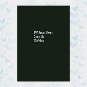 EVA Foam 10 Vellen van 2mm Zwart 12315-1511