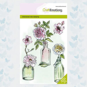 CraftEmotions Clear Stempels Rozen Dimensional stamp 130501/1335