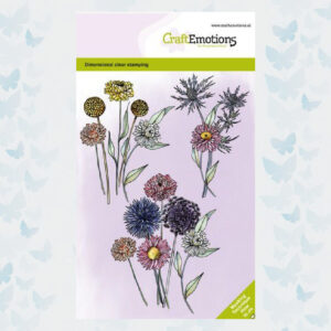 CraftEmotions clearstamps Droogbloemen Dimensional stamp 130501/1337