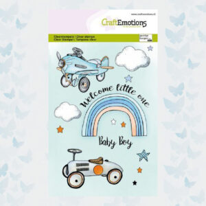 CraftEmotions Clear Stempels Baby Boy 130501/1344