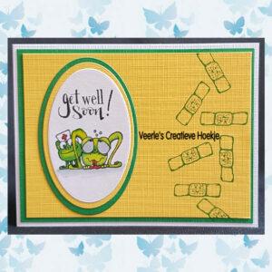CE Clear Stempels - Get well 1 - Carla Creaties 130501/1507