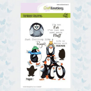 CraftEmotions Clear Stempels - Penguin 1 Carla Creaties 130501/1693
