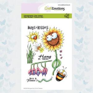 CE Clear Stempels - Bugs & flowers 3 Carla Creaties 130501/1697
