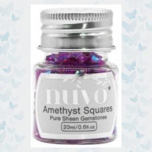 Nuvo Gemstones - Amethyst Purple 1405N
