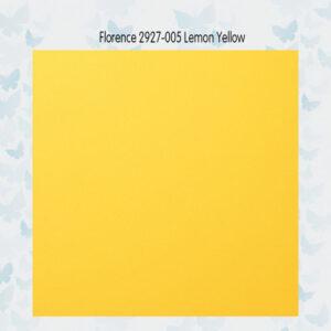 Florence Cardstock Glad Lemon 2927-005