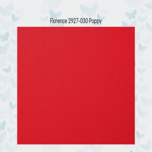 Florence Cardstock Glad Poppy 2927-030