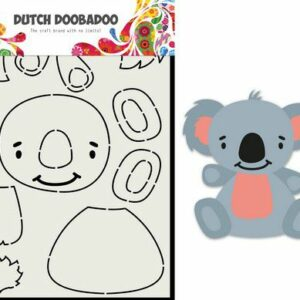 Dutch Doobadoo Card Art Built up Koala 470.713.837