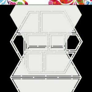 Dutch Doobadoo Dutch Card Art Easel Card Hexagon 470.713.850
