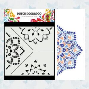 Dutch Doobadoo Mask Art Opbouw Mandala (B) 470.784.032