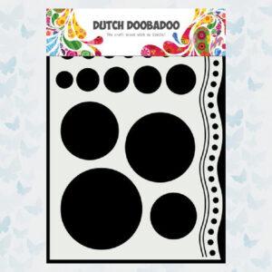 Dutch Doobadoo Mask Art Doodle Cirkels en Rand 470.784.033
