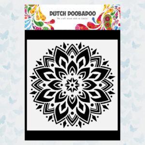 Dutch Doobadoo Dutch Mask Art Doodle Mandala 470.784.034