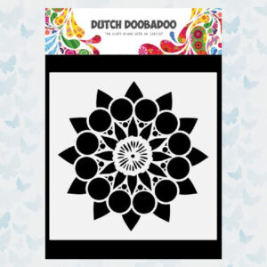 Dutch Doobadoo Dutch Mask Art Doodle Mandala (2) 470.784.035