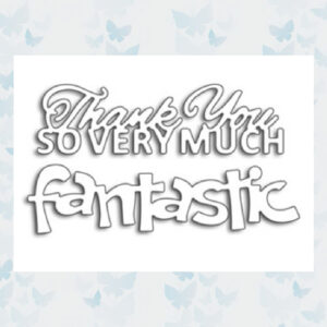 Penny Black Snijmallen 2st Fantastic/Thank You 51-427