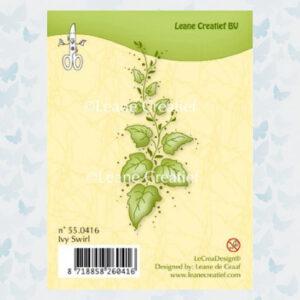 Leane Creatief Clear Stamp Ivy Swirl 55.0416