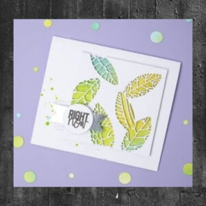 Sizzix Thinlits Die Set - Cut Out Leaves 664431