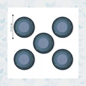Sizzix - Thinlits Dies Stacked Circles 664437